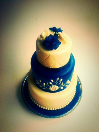Tiered Brooch Cake
