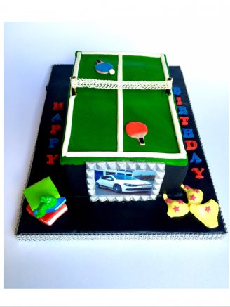 Table Tennis Cake