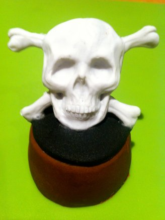 White Pirate's Skull